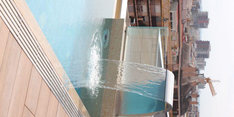 Solarium piscina chillout azotea